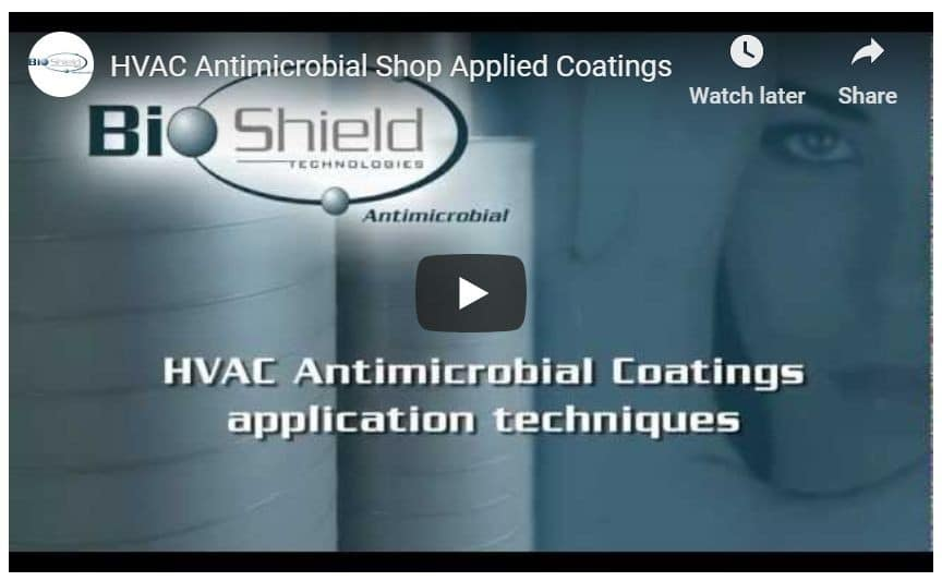 HVAC Antimicrobial Duct Spray & Paint Coating